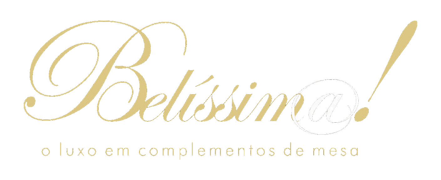 Simulação - Belissima - O luxo em complementos de mesa