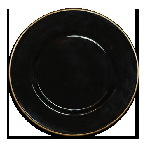 BLACK FILO  - (33 CM)